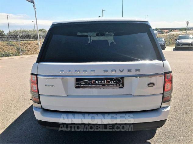 Land Rover Range Rover MARK IV SDV6 HYBRID AUTOBIOGRAPHY BLANC FUJI VERNI Occasion - 8