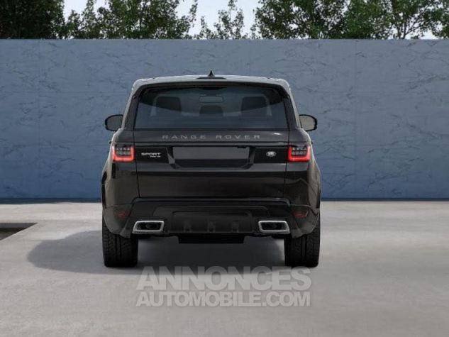 Land Rover Range Rover Sport 2.0 P400e 404ch HSE Dynamic MkVII NOIR SANTORINI Neuf - 3