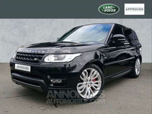 Land Rover Range Rover Sport SDV6 HSE DYNAMIC PANO 21' 306CH Noir Occasion - 1