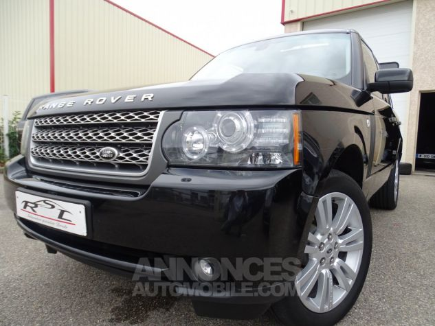 Land Rover Range Rover TDV8 VOGUE SE FULL OPTIONS AVEC DVD noir metallisé Occasion - 1