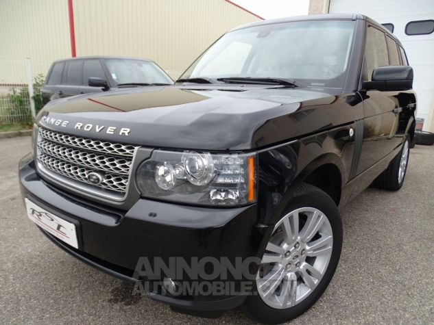 Land Rover Range Rover TDV8 VOGUE SE FULL OPTIONS AVEC DVD noir metallisé Occasion - 2