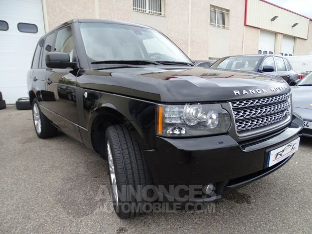 Land Rover Range Rover TDV8 VOGUE SE FULL OPTIONS AVEC DVD noir metallisé Occasion - 4