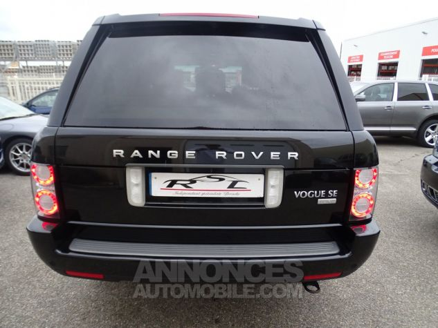 Land Rover Range Rover TDV8 VOGUE SE FULL OPTIONS AVEC DVD noir metallisé Occasion - 9