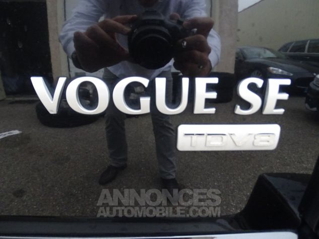 Land Rover Range Rover TDV8 VOGUE SE FULL OPTIONS AVEC DVD noir metallisé Occasion - 21