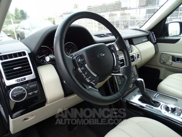 Land Rover Range Rover TDV8 VOGUE SE FULL OPTIONS AVEC DVD noir metallisé Occasion - 16