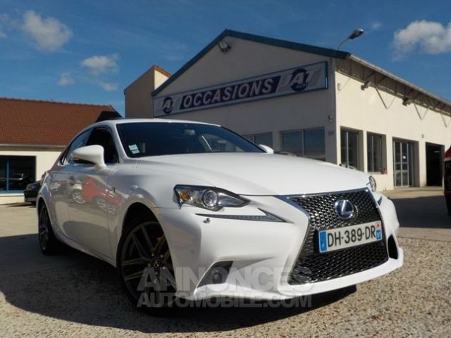 Lexus IS 300H F SPORT BLANC Occasion - 0