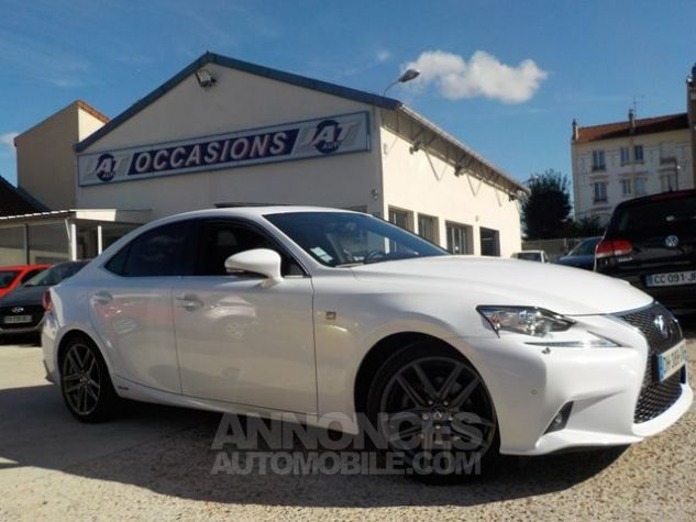Lexus IS 300H F SPORT BLANC Occasion - 1