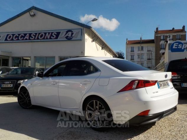 Lexus IS 300H F SPORT BLANC Occasion - 8
