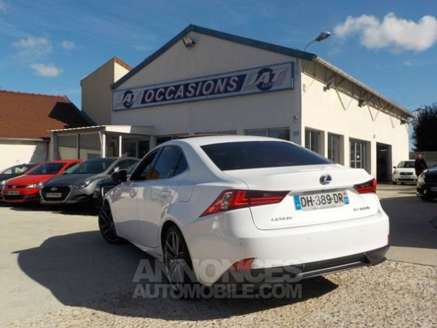 Lexus IS 300H F SPORT BLANC Occasion - 9