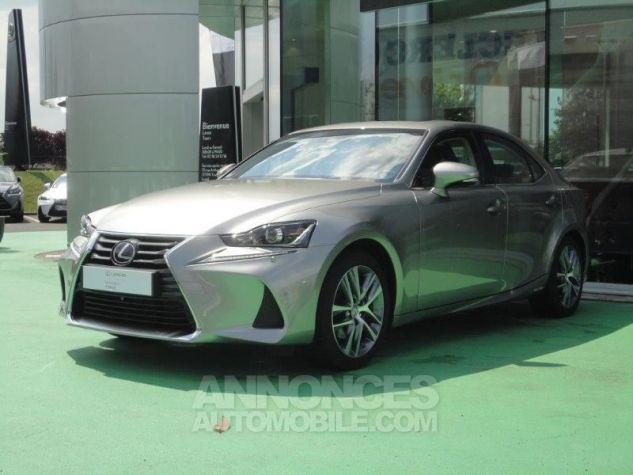 Lexus IS 300h Luxe GRIS TITANE Occasion - 0