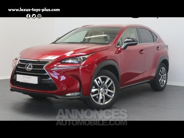 Lexus NX 300h 4WD Luxe ROUGE CRISTAL Occasion - 0