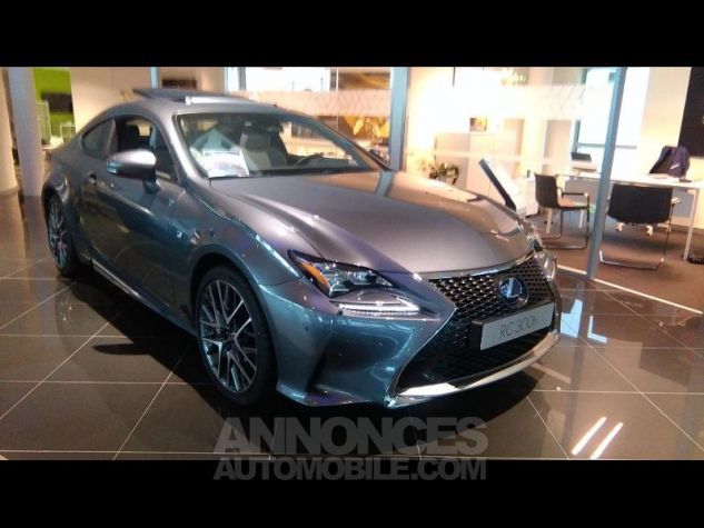 Lexus RC 300h F SPORT Executive Euro6d-T GRIS MERCURE Occasion - 0