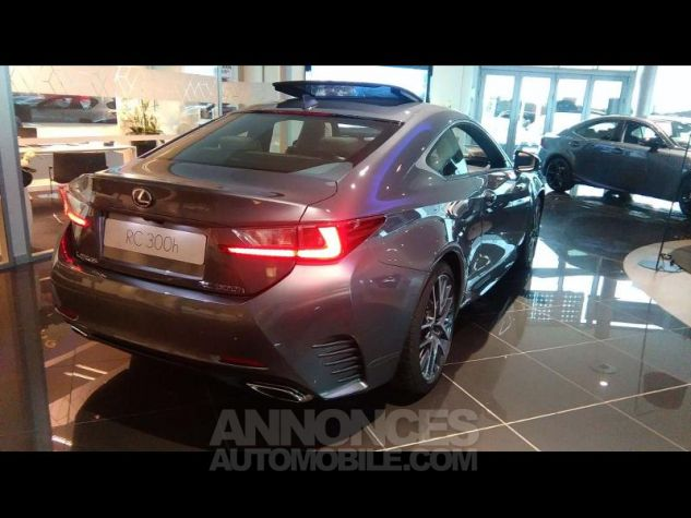 Lexus RC 300h F SPORT Executive Euro6d-T GRIS MERCURE Occasion - 1