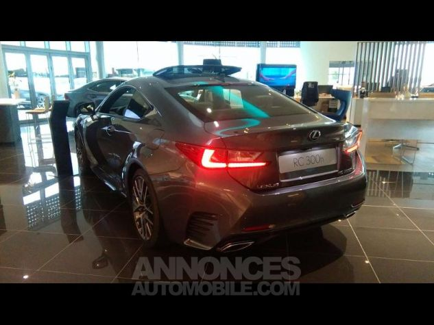 Lexus RC 300h F SPORT Executive Euro6d-T GRIS MERCURE Occasion - 2