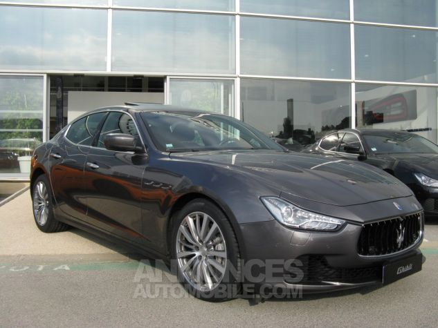 Maserati Ghibli V6 grise Occasion - 0