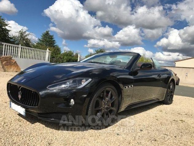 Maserati Grancabrio SPORT Noir Occasion - 4