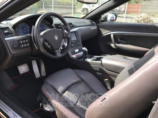 Maserati Grancabrio SPORT Noir Occasion - 9