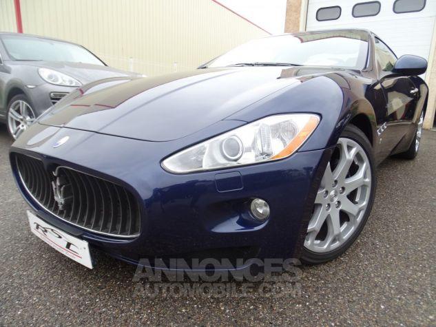 Maserati GranTurismo 4.2LBVA ZF 405PS / GPS BIXENON SKYHOOK bleu met Occasion - 1