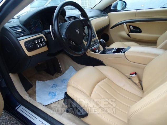 Maserati GranTurismo 4.2LBVA ZF 405PS / GPS BIXENON SKYHOOK bleu met Occasion - 8