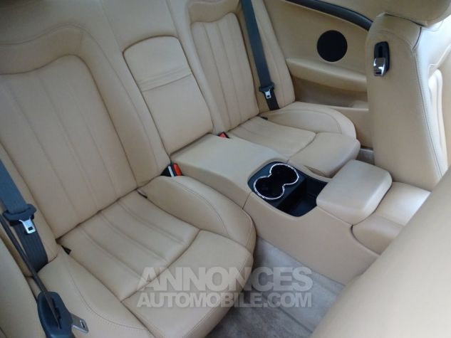 Maserati GranTurismo 4.2LBVA ZF 405PS / GPS BIXENON SKYHOOK bleu met Occasion - 17