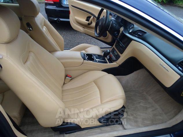 Maserati GranTurismo 4.2LBVA ZF 405PS / GPS BIXENON SKYHOOK bleu met Occasion - 14