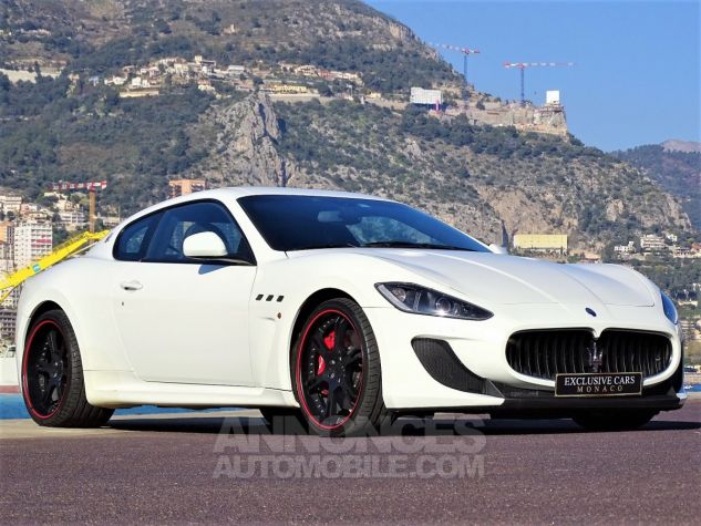 Maserati GranTurismo MC STRADALE V8 4.7 F1 BVR 450 CV - MONACO Blanc Eldorado Leasing - 13