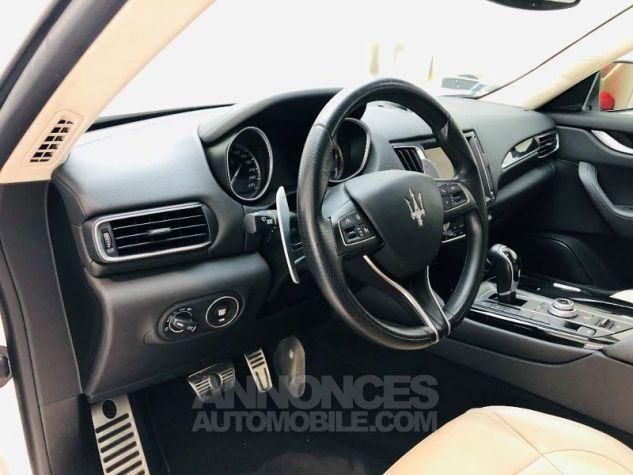 Maserati Levante 3.0 V6 275ch Diesel Blanc Bianco Occasion - 1