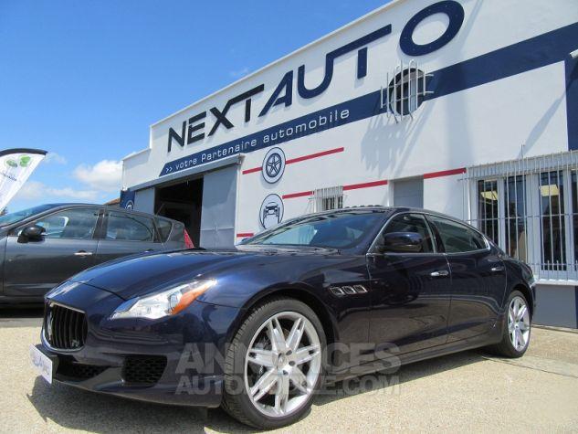 Maserati Quattroporte 3.0 V6 410CH S Q4 Bleu Nuit Occasion - 0