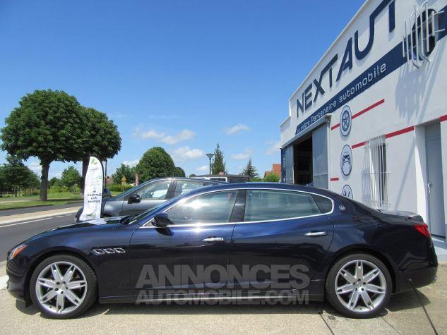 Maserati Quattroporte 3.0 V6 410CH S Q4 Bleu Nuit Occasion - 4