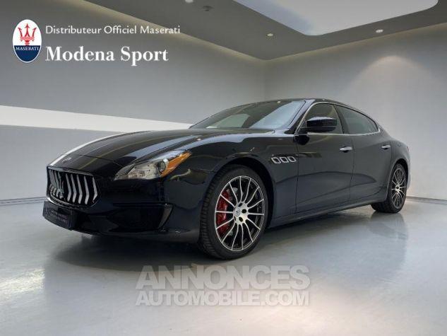 Maserati Quattroporte 3.0 V6 410ch Start/Stop S Q4 GranSport Noir Nero Ribelle Occasion - 0