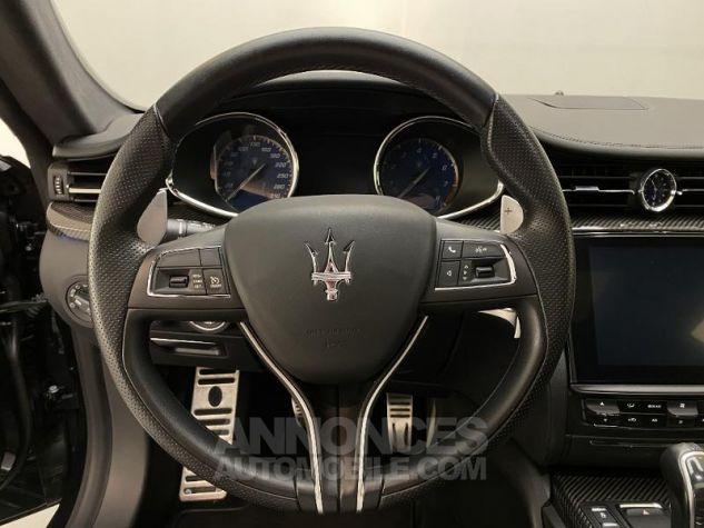 Maserati Quattroporte 3.0 V6 410ch Start/Stop S Q4 GranSport Noir Nero Ribelle Occasion - 11