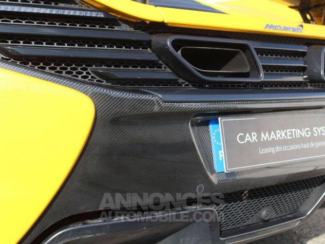 McLaren 650S Spider 3.8 V8 650ch Jaune Leasing - 11