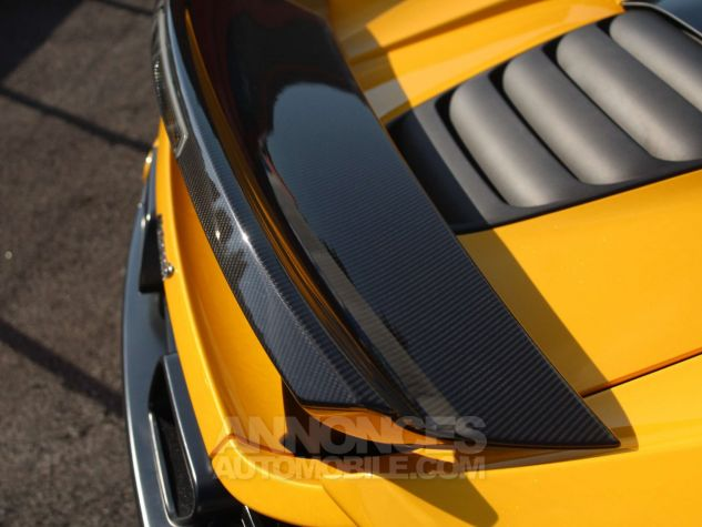 McLaren 650S Spider 3.8 V8 650ch Jaune Leasing - 12
