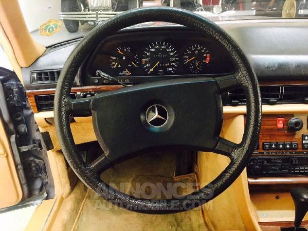 Mercedes 500 SEL Bleu Occasion - 14