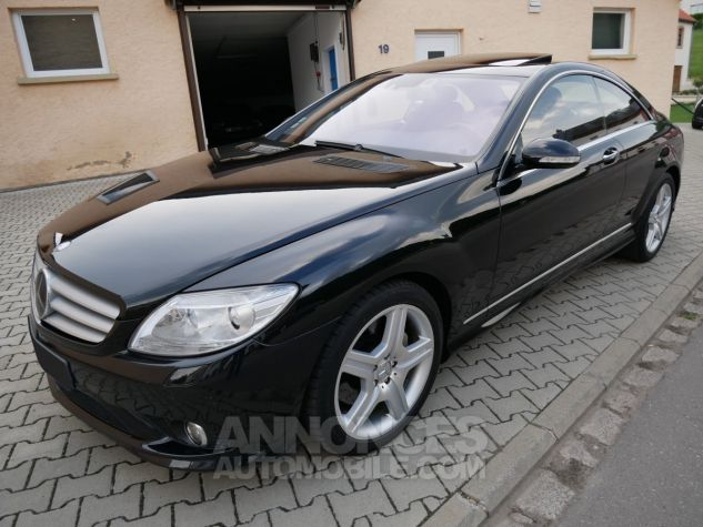 Mercedes CL 500 Pack AMG, Distronic, Night View, Massage, Keyless noir Obsidienne métallisé Occasion - 1