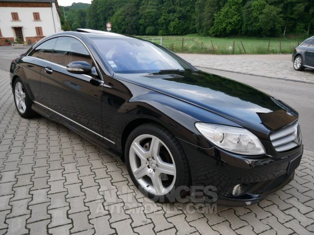 Mercedes CL 500 Pack AMG, Distronic, Night View, Massage, Keyless noir Obsidienne métallisé Occasion - 2
