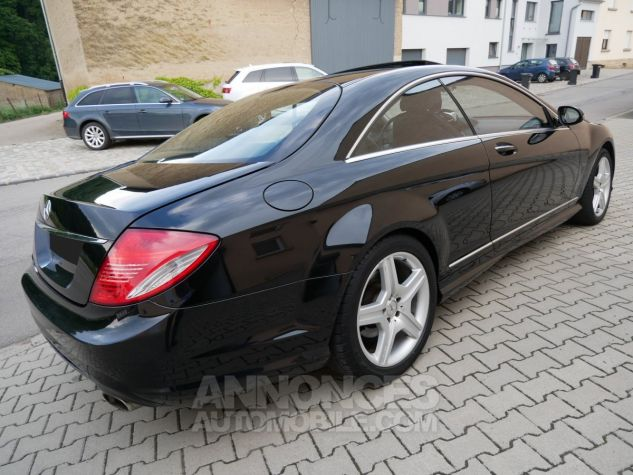 Mercedes CL 500 Pack AMG, Distronic, Night View, Massage, Keyless noir Obsidienne métallisé Occasion - 3