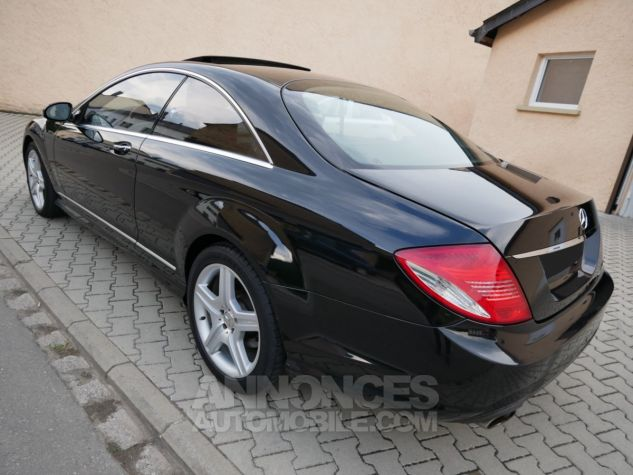 Mercedes CL 500 Pack AMG, Distronic, Night View, Massage, Keyless noir Obsidienne métallisé Occasion - 4
