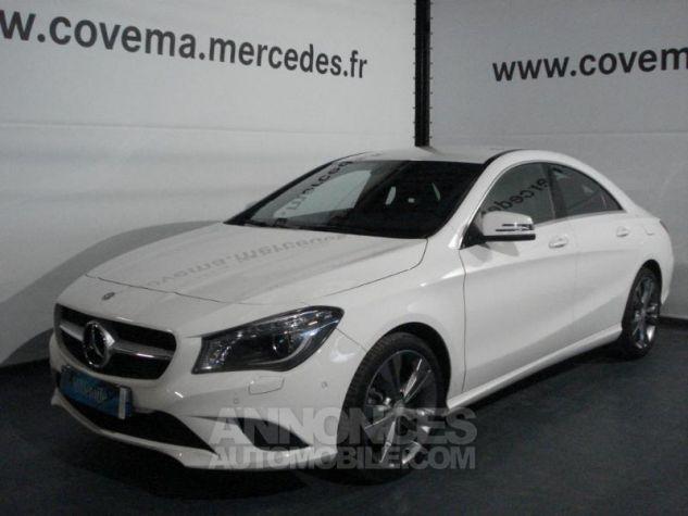 Mercedes CLA 220 CDI Sensation 7G-DCT blanc calcite Occasion - 0