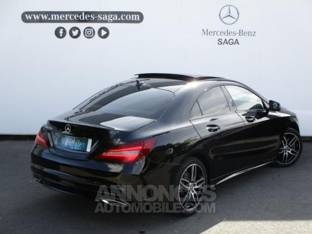 Mercedes CLA 220 d Fascination 7G-DCT Noir Occasion - 1