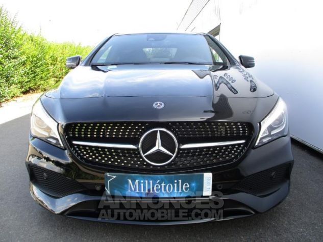 Mercedes CLA 220 d Fascination 7G-DCT Noir Occasion - 8