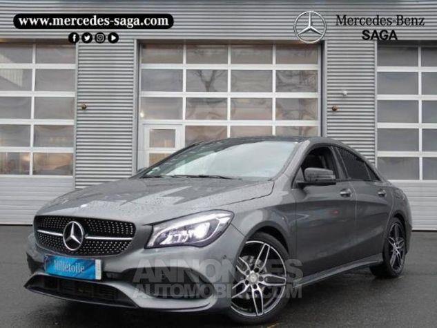 Mercedes CLA 220 d Fascination 7G-DCT Gris montagne métallisé Occasion - 0