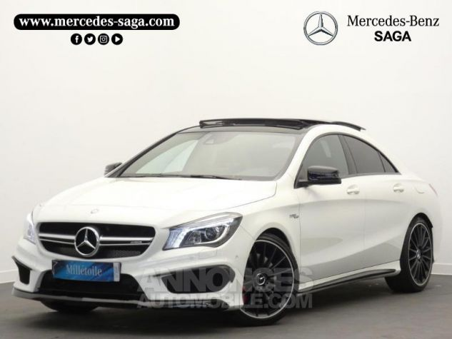 Mercedes CLA 45 AMG 4Matic Speedshift DCT Blanc Cirrus Occasion - 0