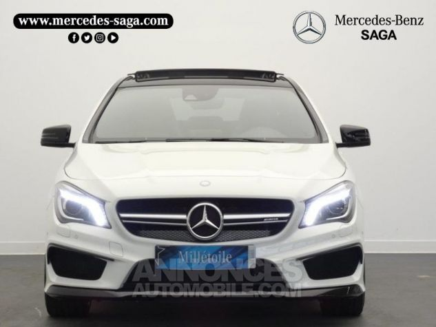 Mercedes CLA 45 AMG 4Matic Speedshift DCT Blanc Cirrus Occasion - 5