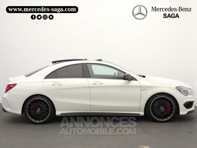 Mercedes CLA 45 AMG 4Matic Speedshift DCT Blanc Cirrus Occasion - 6
