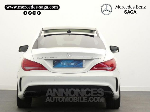 Mercedes CLA 45 AMG 4Matic Speedshift DCT Blanc Cirrus Occasion - 7