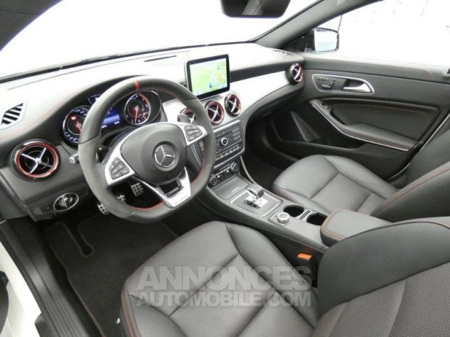 Mercedes CLA 45 AMG 4Matic Speedshift DCT Blanc Cirrus Occasion - 8
