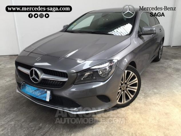Mercedes CLA Shooting Brake 180 d Inspiration 7G-DCT GRIS F Occasion - 0