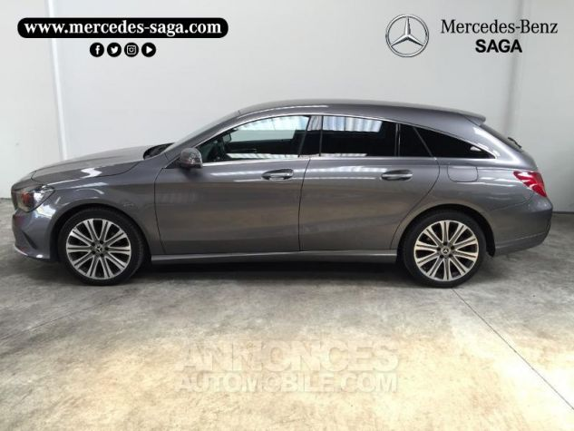 Mercedes CLA Shooting Brake 180 d Inspiration 7G-DCT GRIS F Occasion - 1