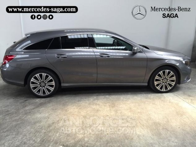 Mercedes CLA Shooting Brake 180 d Inspiration 7G-DCT GRIS F Occasion - 2